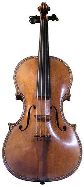 un stradivarius (image sous les droits creative communs provenant de wikipépia)