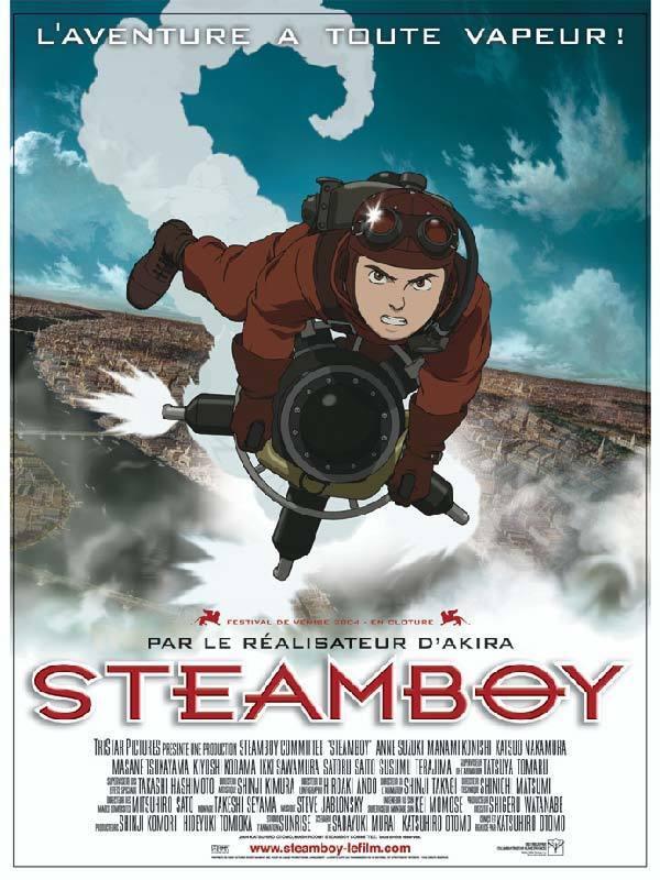 L'affiche de  Steamboy  © Gaumont Columbia Tristar Films