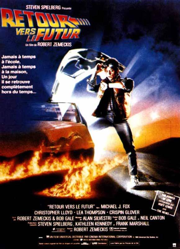 L'affiche du film Retour vers le future © Universal Pictures