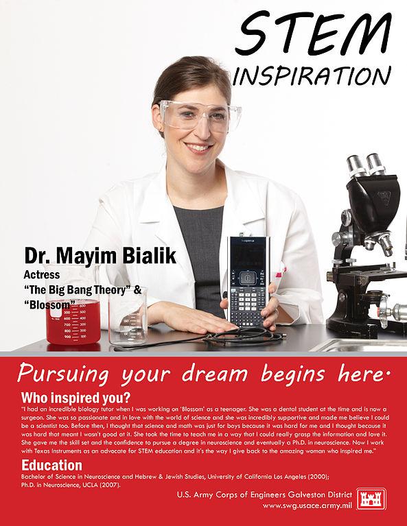 Dr_Mayim_Bialik_USACE_poster