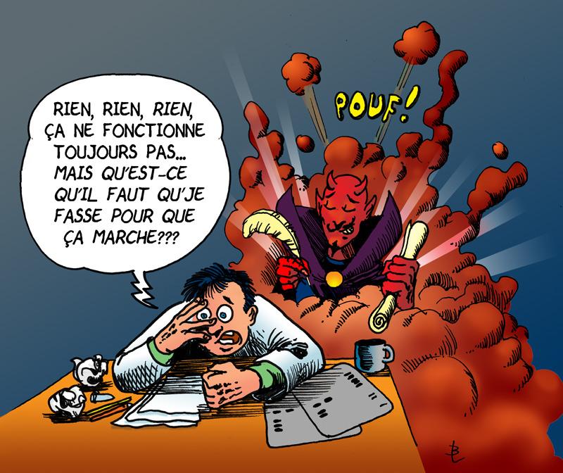 Il Faust ce qu'il faut par Benoît Leblanc