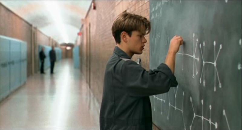 Will Hunting sur le point d'être découvert ( © Miramax Films )