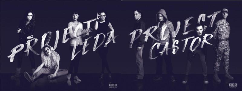Les clones du projet Leda et Castor (images promotionnelles © BBC America)