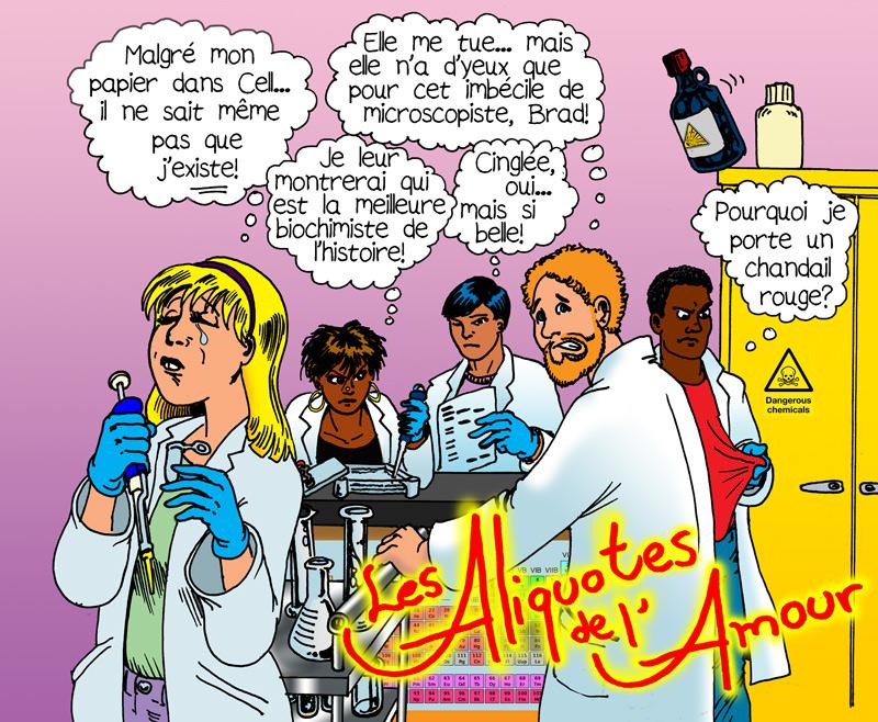 Bientôt au petit écran: le labo!!! par Benoît Leblanc