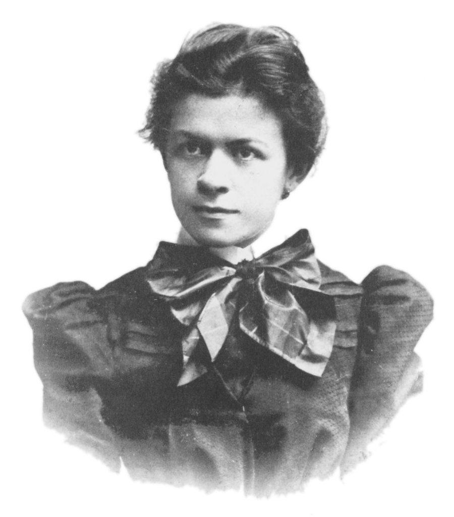Mileva Marić en 1896