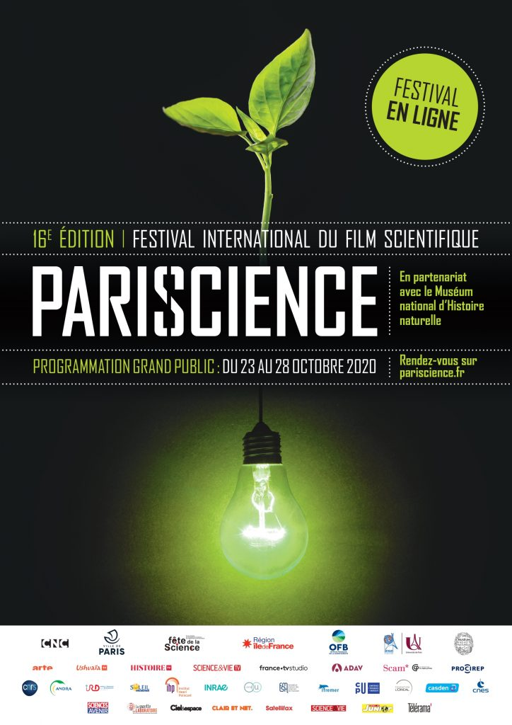 Affiche du festival Pariscience 2020